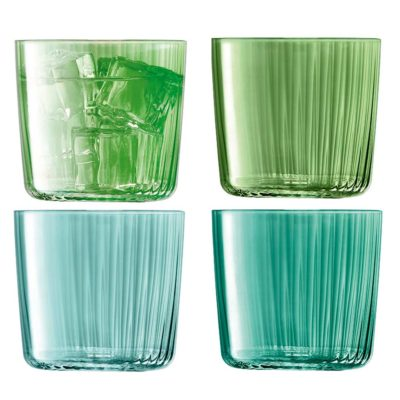 handmade tumbler 310ml jade, gems by LSA International