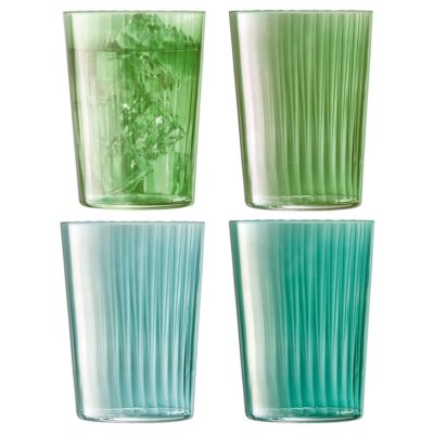 handmade tumbler 560 jade, gems by LSA International