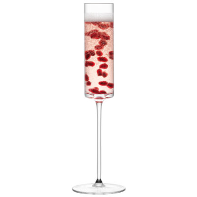 handmade champagne flute, lulu by LSA International