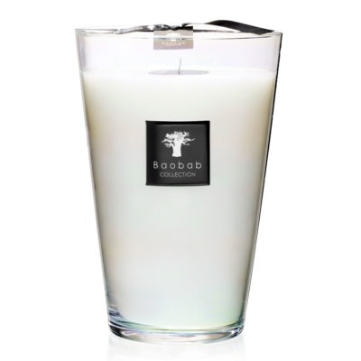 madagascar vanilla white candle by baobab