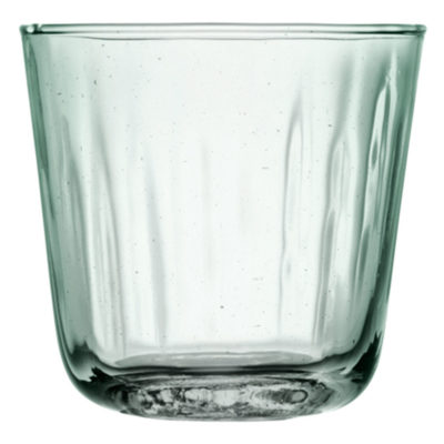 handmade tumbler made of recycled glass, Mia by LSA International