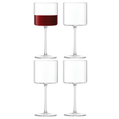 handmade red wine glass, otis by LSA International