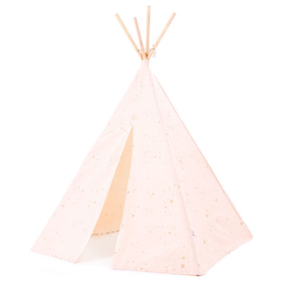 pink and gold teepee by Nobodinoz