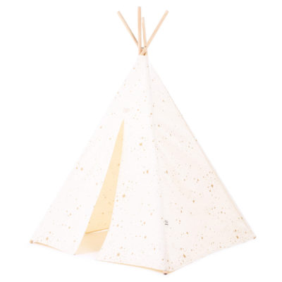 Natural and gold teepee by Nobodinoz