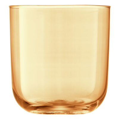 gold hand painted tumbler by LSA International