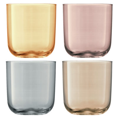 polka tumbler gold, copper, bronze and zinc LSA International