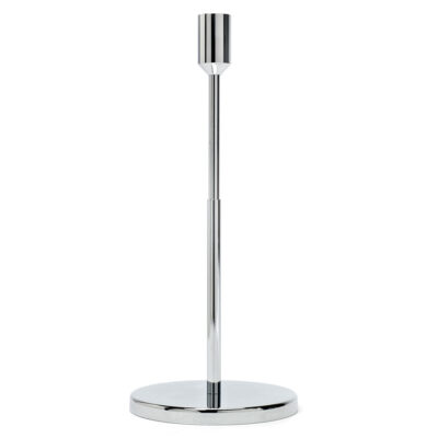 Candle holder silver, jansen+co by Serax