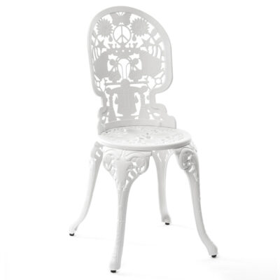 Industry Collection outside white Chair by seletti