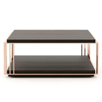 wooden Coffee Table with metal structure by Laskasas