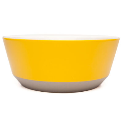 porcelain bowl XL yellow grey, jansen+co by Serax