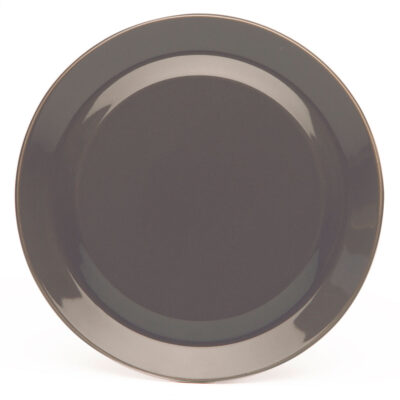 porcelain plate anthracite, Jansen+co by Serax