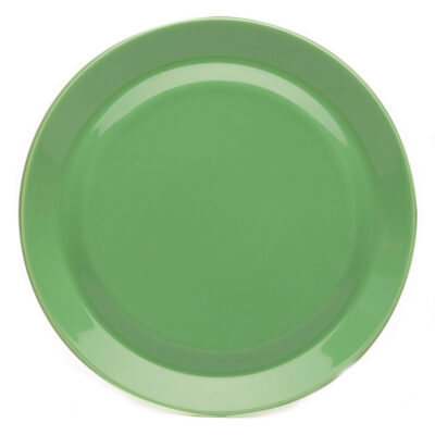 porcelain plate green, Jansen+co by Serax