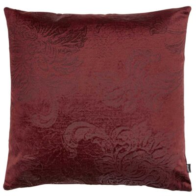 red cushion cover by Jakobsdals