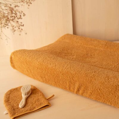 waterproof changing mat cover caramel by Nobodinoz