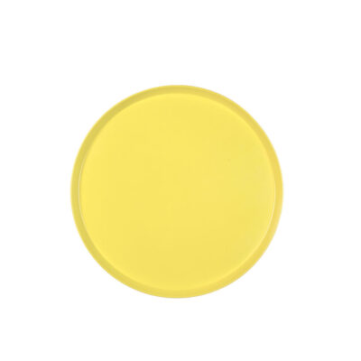 Tray round colour Medium yellow Serax