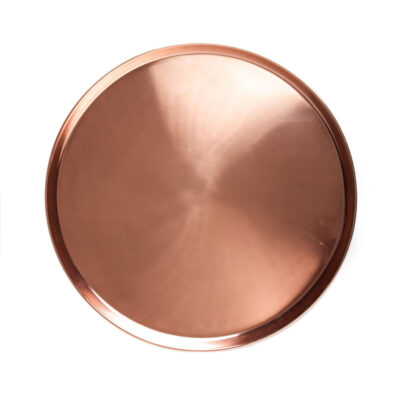 Tray round copper large, Jansen + co by Serax