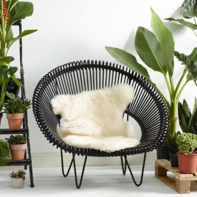 chair Cocoon Black by Vincent Sheppard