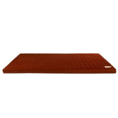 velvet matress Wild Brown by nobodinoz