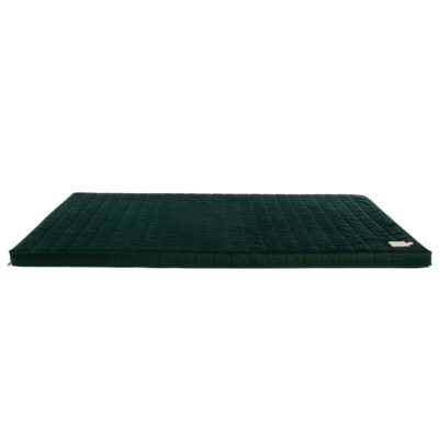 velvet matress jungle green by nobodinoz