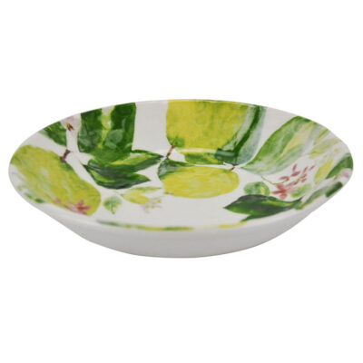 hand made salad bowl with lemon by Arcucci