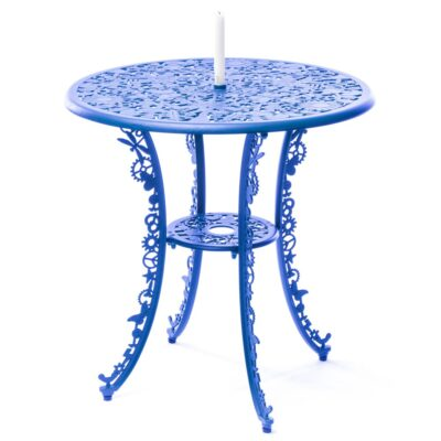 outdoor aluminium table blue by Seletti
