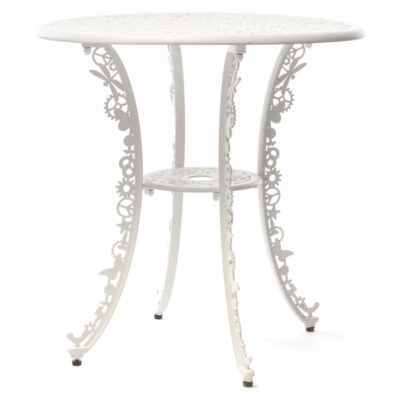 outdoor aluminium table white by Seletti