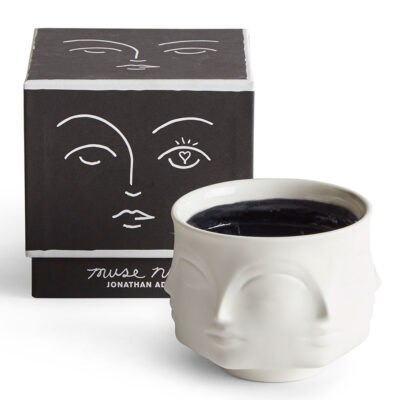 muse noir candle by Jonathan Adler