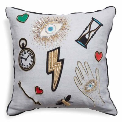 bijoux scatter pillow by Jonathan Adler