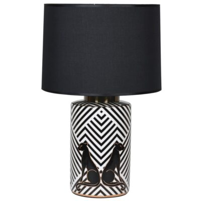 Agee Leopard lamp with shade by Latzio