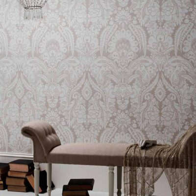Albemarle Chatterton fern leaves and exotic fruits wallpaper by Cole & Son