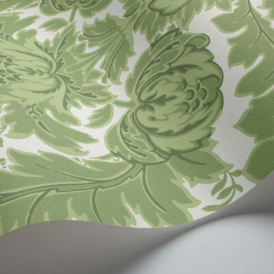 Albemarle Coleridge, damask wallpaper by Cole & Son