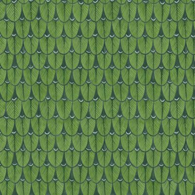 Ardmore Narina green geometric design wallpaper by Cole & Son