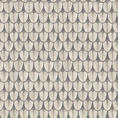 Ardmore Narina grey geometric design wallpaper by Cole & Son