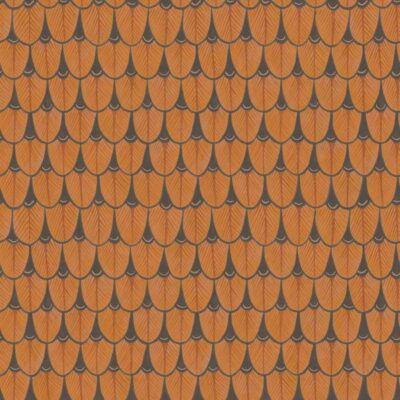 Ardmore Narina orange geometric design wallpaper by Cole & Son