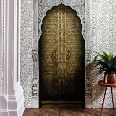Doorway panels Bahia wallpaper by Cole & Son