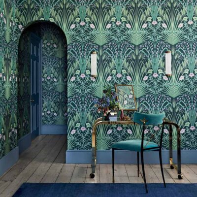 Botanical Botanica bluebell, wild field flowers wallpaper by Cole & Son