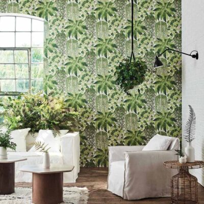 Botanical Botanica fern green wallpaper by Cole & Son 7021