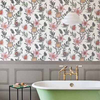 Botanical Botanica thistle wallpaper by Cole & Son