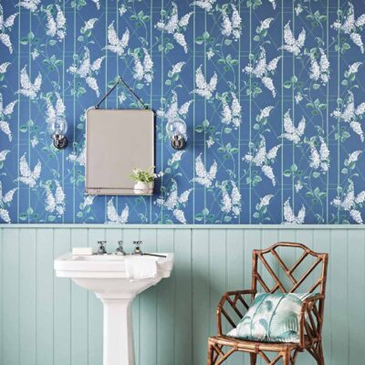 Botanical Botanica, wisteria blue wallpaper by Cole & Son