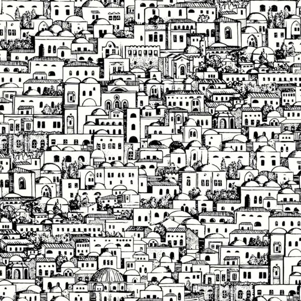 Fornasetti Senza Tempo Mediterranea wallpaper by Cole & Son