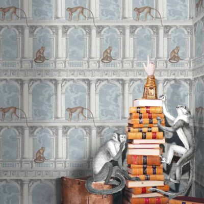 Fornasetti procuratie con vista wallpaper by Cole & Son