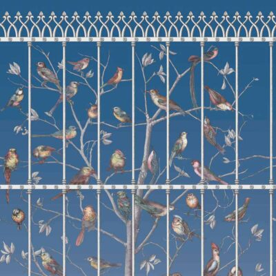 Fornasetti uccelli, birds wallpaper by Cole & Son