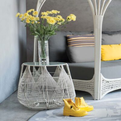 Hagia side table by Kenneth Cobonpue