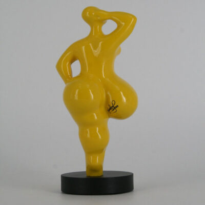 JC11009 Baila yellow Sculpture Juliarte