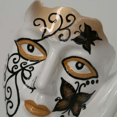JC25063 the face butterfly sculpture by Juliarte
