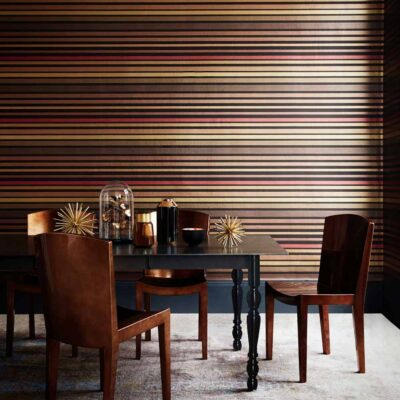 Marquee Stripes Carousel Stripe wallpaper by Cole & Son