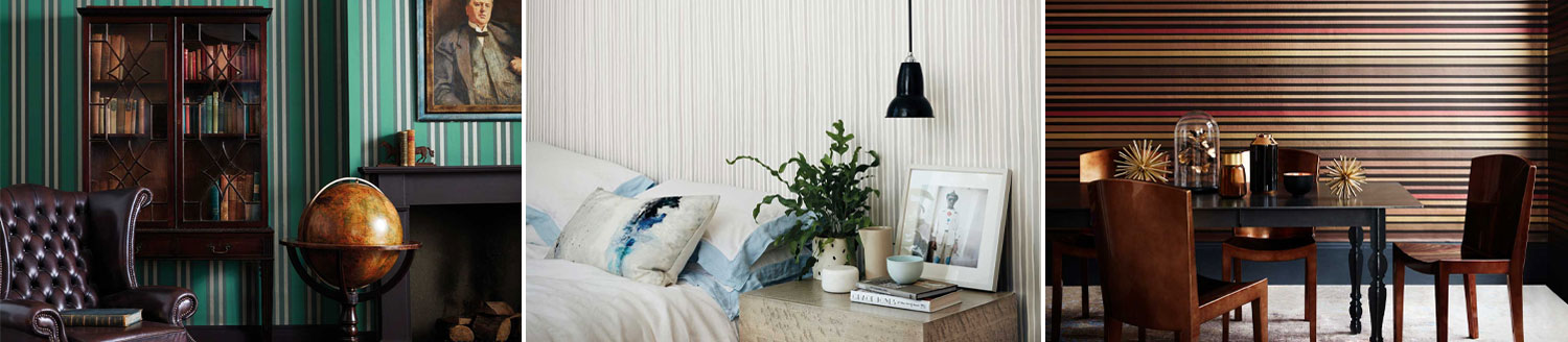 Marquee Stripes Cole & Son wallpaper