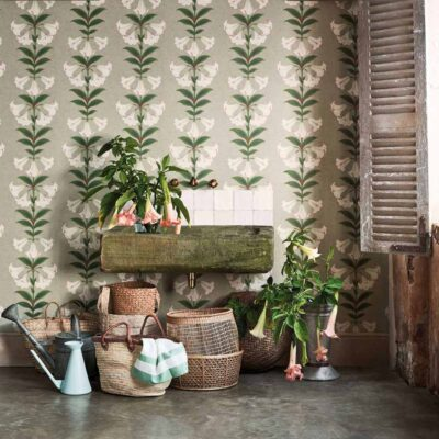 Seville Angel's Trumpet wallpaper by Cole & Son