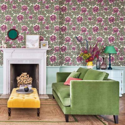 The Pearwood Collection Aurora wallpaper by Cole & Son
