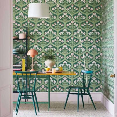 The Pearwood Collection Floral Kingdom wallpaper by Cole & Son
